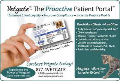 Vetgate Pet Health ID Cards